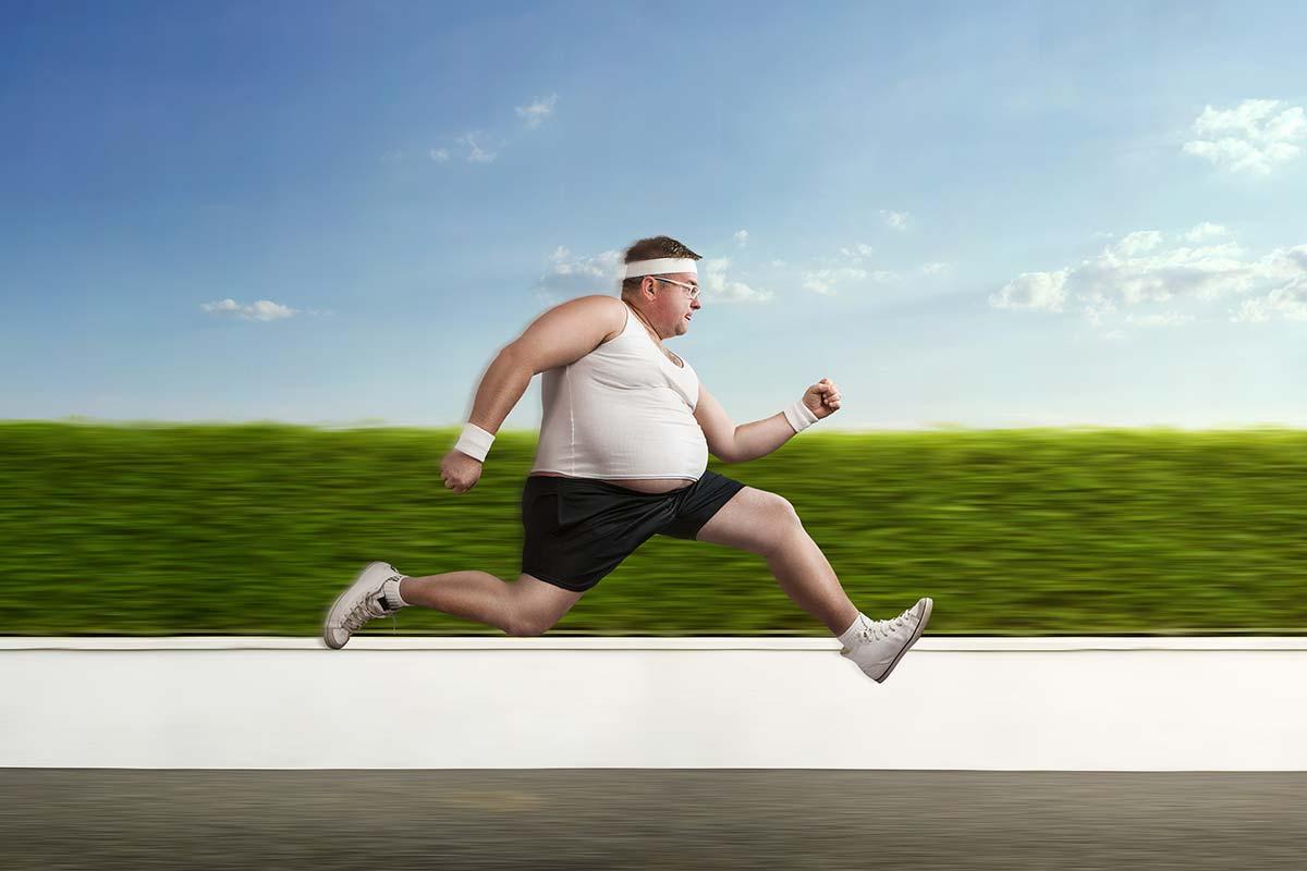 Картинка бегущего человека прикол, днем спасателя