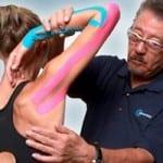 тейпирование локтевого и плечевого сустава