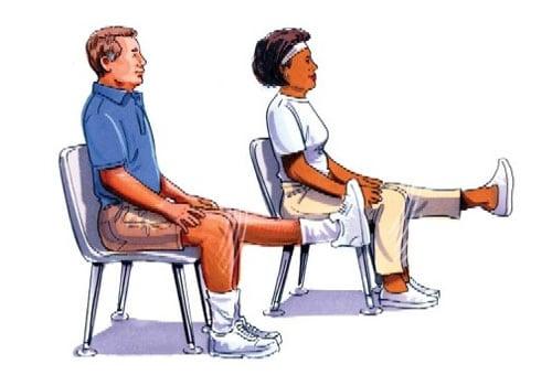 лфк артрозе коленей