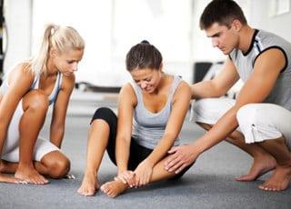 Как разработать ногу после операции на коленном суставе - b