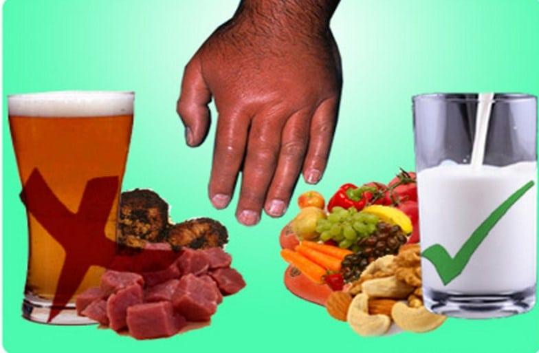 Какой алкоголь можно при подагре: водка, пиво, вино