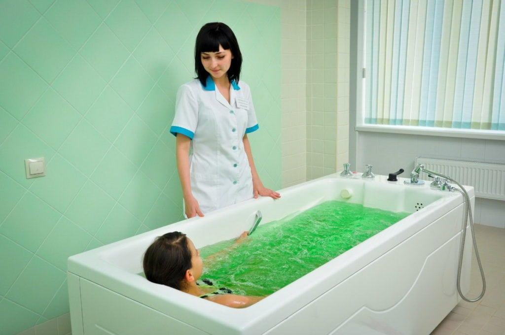 солевые ванны для суставов