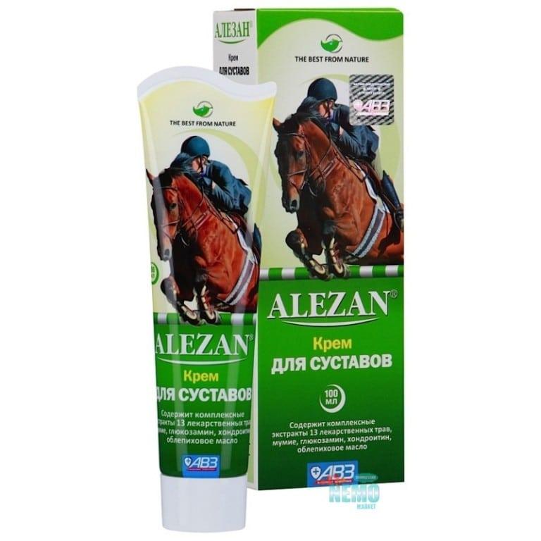 Мазь для лечения суставов у лошадей